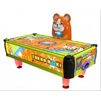 China Indoor Amusement Game Machine , Amusement Park Children Air Hockey Game factory