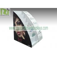 Buy cheap Cosmetic table displays cardboard cosmetic displays sunglasses displays with customized design  ENCD004 from Wholesalers