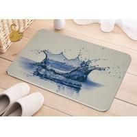 Buy cheap Printing Anti-Bacterial Absorbent Non Slip Area Rugs , Non Slip Floor Area Mat Rugs from Wholesalers