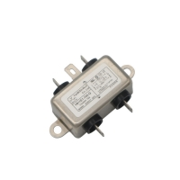 China Low Pass Electrical Equipment AC 250V Socket EMI Filter 10A factory