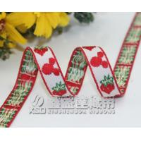 Buy cheap Customized mickey mouse Jacquarded ribbons,Jacquard tapes with yarns dyed from Wholesalers