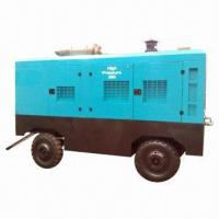 Buy cheap Air Compressor for Drilling Machine, 20psi Discharge Bar, 60L Capacity Oil System from Wholesalers