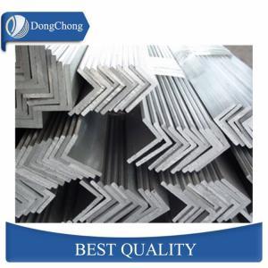 China Anodized Aluminum Extrusion Profiles / 20x20 L Shaped Aluminium Profile factory