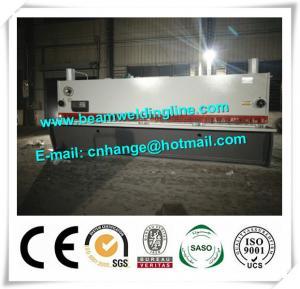 China QC11Y-16x8000 Hydraulic Guillotine Shearing Machine For Q235A Steel Sheet factory
