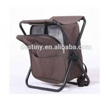 Wholesale promotional outdoor flat folding chair fishing cooler bag