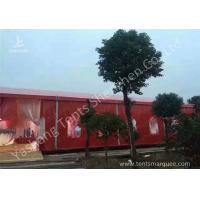 Buy cheap Popular Red Color 20m Width Luxury Wedding Party Tent Marquee with Top and Wall Curtains from Wholesalers