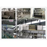 Buy cheap Continuous Pressing Frying Fried Instant Noodle Making Machine Commercial from wholesalers