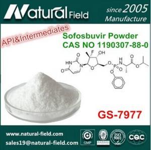 China China Supplier 1190307-88-0 Sofosbuvir Powder factory