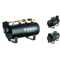 China Various Functions 2 In 1 Portable Compressed Air Tank For Inflation And Car Horns factory