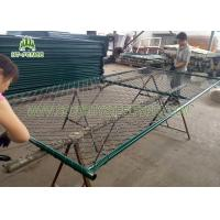 Buy cheap Pre - Galvanized Portable Temporary Fence Panels For Commercial Construction Sites from Wholesalers