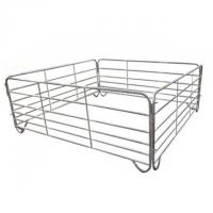 China Galvanized Livestock Metal Fence Panels Used Corral Horse Fence Panels on sale