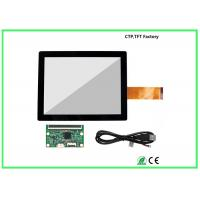 Flat 10.1 Inch Small Touch Panel 6H Surface Hardness Strong Compatibility