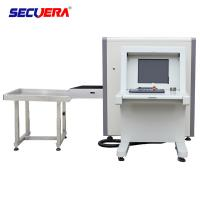China Small Size Airport Luggage Scanner , X Ray Security Machine 6550 Conveyor Max Load factory