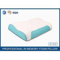 Buy cheap Wave Memory Foam Contour Pillow , Orthopedic Sleeping Pillow With Zipper Cover from Wholesalers