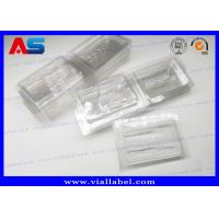 Buy cheap PVC Clear Ampoule Blister Packaging Tray For Medication 2ml Vials  Engrave Embossing from Wholesalers