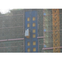 China Medium Speed Construction 2 Tons Personnel And Materials Hoist factory