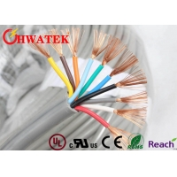 China Shielding 26AWG UL2464 PVC Insulated Elevator Signal Cable on sale
