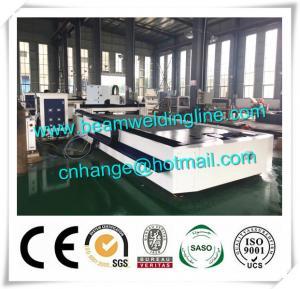 China Fiber Laser Cutting Machine 1000w Cut Sheet Metal , CNC Plasma Cutting Machine For Plate factory