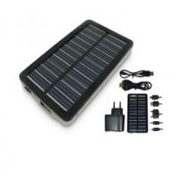 China 1500mAh Solar Portable Charger With LED Flashlight factory