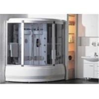 Buy cheap Comfortable Whirlpool Steam Shower Bath Cabin Unit With Computer Control Panel from Wholesalers