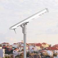Buy cheap Stand Alone Solar Powered Led Pole Lights All In One Integrated Aluminum Lithium from wholesalers