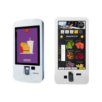 China 32'' Interactive Digital Signage , Restaurant Digital Signage With QR Code Scanner factory