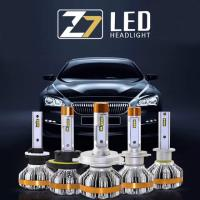 China Led Headlight Bulbs H1 H3 H7 H4 H13 9005 60W 7000LM Turbo Fan Cool White 6500k Truck Repleacment Kits LED Headlamp Bulb on sale