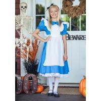 Buy cheap Teen Girl Halloween Costumes Child Deluxe Alice Dress for Party from Wholesalers