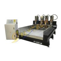 China 1325-4 4 axis CNC Router engraving machine with four independent head 4 rotary axis on sale