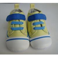 China canvas with lace baby shoe NO. 5032 factory
