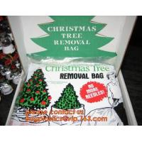 Buy cheap Promotion large removal waterproof Christmas artificial decorated tree bag,10 Ft Christmas Tree Removal Gift Bags packag from Wholesalers