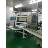 Cream Unit Tissue Paper Production Line V Folded Baby Facial Tissue Folding Equipment