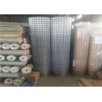 China 2x2 Inch Strong Welding Galvanised Welded Mesh Rolls Customized Hole Size on sale