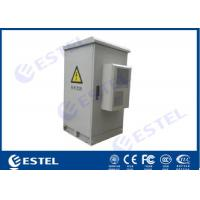 Buy cheap 24U Assembled Structure Outdoor Electrical Cabinet 500W Cooling Capacity Air from wholesalers