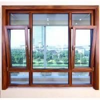 China Heat Insulated Aluminum Tilt And Turn Windows Wind Resistance Space Saving factory