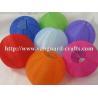 Buy cheap Round nylon lantern even ribbing solid colour round lantern fabric lantern from wholesalers
