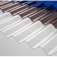 Buy cheap High Light Transmission Clear Corrugated Polycarbonate Sheets For Greenhouse from Wholesalers