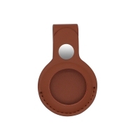 China Location Tracker Pu Leather Air Tag Protector Anti Lost Protective Cover factory