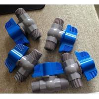 Buy cheap PVC Male And Male Double Male Stainless Steel Ball Float Valve With PP Ball Anf Butterfly Handle from Wholesalers