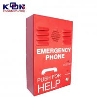 Buy cheap Outdoor Emergency Help Public Telephones Wall Mount Waterproof from Wholesalers