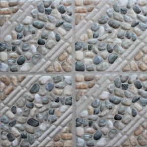 Glazed Ceramic Tiles 300x300mm Multicolor Ink-jet printing Glazed Rustic Tiles In Stock