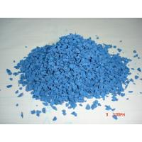 Buy cheap Blue Colored EPDM Rubber Granules Anti Slipping / Vibration ISO9001 Certified from wholesalers