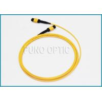 Buy cheap Single Mode MPO Fiber Optic Cable For Indoor Structure Cabling 32 Fibers from wholesalers