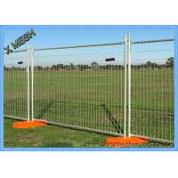 Buy cheap Regular Temporary Pool Fencing Portable Fence Panels 2400 W*2100 H Size from Wholesalers