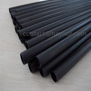 China Matte Black 3k carbon fiber tube and Rod on sale