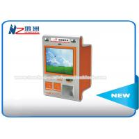 China Touch Screen Multimedia Wall Mount Kiosk With Card Reader And Bill Validator on sale