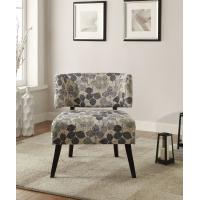 Buy cheap Curta Upholstered Accent Chairs Living Room With Tailored And Leaf Pattern from Wholesalers