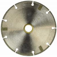 China 4 Inch Diamond Cutting Blade FLAT Tipped Cutting Disc Grinding Wheel Grit 60 Coarse For Angle Grinder on sale