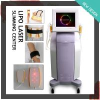 Quality Physical lipolysis Lipo laser fat reduction RF and cavitation slimming machine for sale