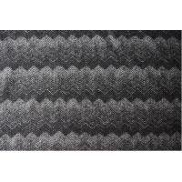 China Herringbone Gradient Knitting Jacquard Upholstery Fabric For Mens Apparels factory